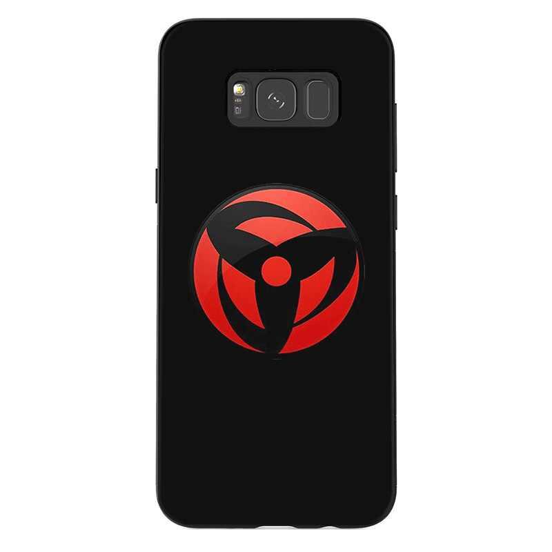 Caixa do telefone para Samsung M10 M20 M30 M40 S6 S7 Borda S9 S8 S10 S10E Plus Nota 8 9 10 Naruto Bonito