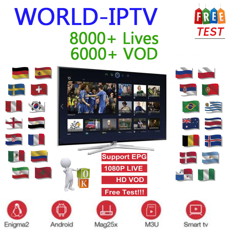Stable Iptv Subscription Europe Full HD Iptv Spain French Include VOD Adult Channels Work For Smart Tv Iptv M3U Android Device