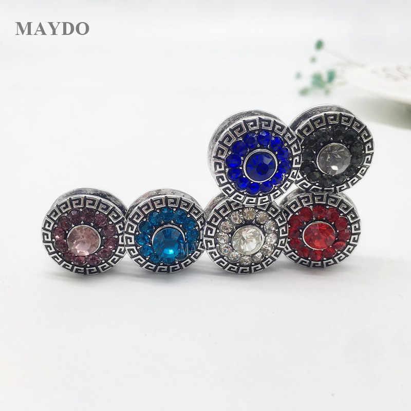 XT173 Solido di Modo magnete Spilla Spille Musulmano per la Sciarpa Elegante Alla Moda di Stile per Le Donne Corona Forte Magnetico Hijab Magnete