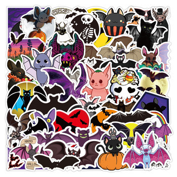 10/50PCS Bat Chiroptera Stickers Laptop DIY Guitar Luggage Skateboard Phone Car Waterproof Graffiti Sticker Decals Kid Toys image