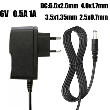 AC 110-240V to DC 6V 0.5A 1A 2A 3A Universal Switch Power Supply Adapter Charger 6 V Volt for Omron Blood Pressure Monitor M2 M3