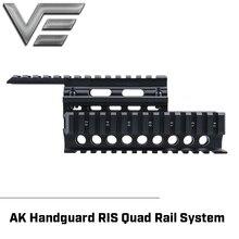 Vector Optics 2ชิ้นHandguard Quad RailระบบFit AK 47 74ฟรีฝาครอบGuards