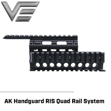 Vector Optics 2 piece Handguard Quad Rail System Mount fit AK  47 & 74 Free Rail Cover Guards