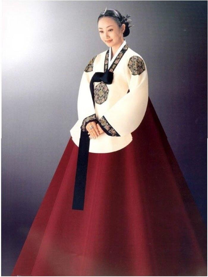 Hanbok Dress Custom Made Korean Traditional Woman Dress Korean National Costumes  Korean Dress  Mens Asian Fashion