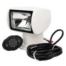 Projecteur de bateau télécommandé camion voiture Marine projecteur à distance 12V 100W ampoule