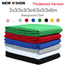 Thicken Black White Green Blue Grey Red Yellow Muslin Photo Backgrounds Studio Photography Screen Chromakey Backdrop Cloth