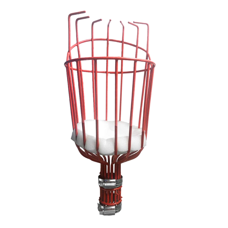 Fruit Picker Basket with Optional Splicing of Lightweight Stainless Steel To Pick Apples Oranges and Fruit Trees Fruit Picker To|  - title=