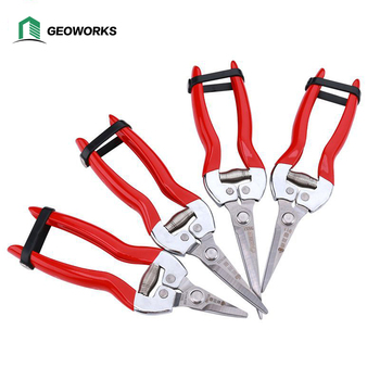 Garden Pruning Shears Fruit Picking Scissors Pruning Scissors Gardening Secateurs Grass Shears Branch Pruner Flower Tools garden tools scissors gardening stainless steel branch pruner cutter sharp bypass pruning shears wwo66