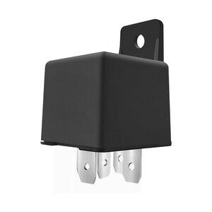 Image 4 - 자동차 추적 릴레이 gps 트래커 장치 gsm 로케이터 원격 제어 도난 방지 모니터링 오일 전원 시스템 app 차단