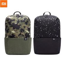 الأصلي شاومي Mi حقيبة صغيرة الترفيه الرياضة الصدر حزمة حقيبة التمويه للجنسين 10L للرجال النساء طالب السفر التخييم