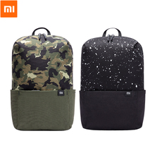 Original Xiaomi Mi Small Backpack Leisure Sports Chest Pack Bag Camouflage Unisex 10L for Men Women Student Traveling Camping