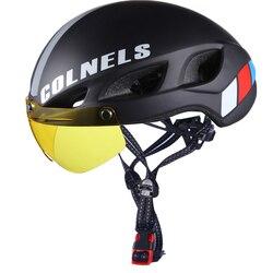 Darmowa wysyłka Aero gogle kask rowerowy w formie kask jazda mężczyzna prędkość Airo czas próbny kask rowerowy