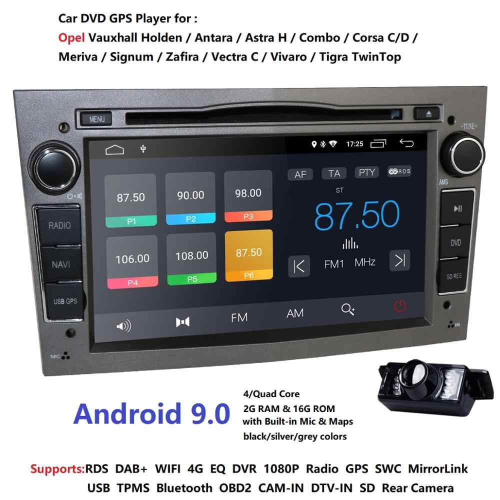 "7 ""Android9.0 DVD spécial voiture pour Opel Astra H de 2004 & Opel Combo de 2004 & Opel Corsa C 2004-2006 & Opel Corsa D de 2006"