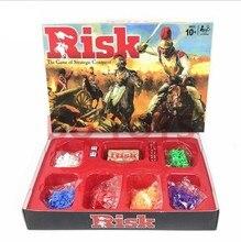 Conquista estratégica risco o jogo de cartas de tabuleiro jogo jogar melhor presente festa de família engraçado gadgets novidade brinquedos inglês cartão jogo de festa