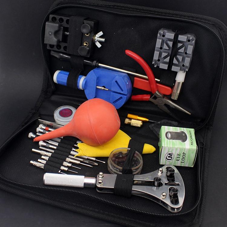27 unids / set reloj de pulsera herramienta de reparación reloj kit - Accesorios para relojes