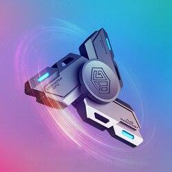2020 Светящийся Ручной Спиннер EDC вращающийся ручной Спиннер аутизм СДВГ пальчиковые игрушки хобби для взрослых Спиннеры фокусировка снятие ...