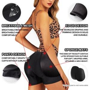 Image 5 - Burvogue Butt Lifter Shaper Women Ass Padded Panties Slimming Underwear Body Shaper Butt Enhancer Sexy Tummy Control Panties