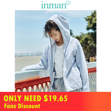 INMAN 2019 Autumn New Arrival Cotton Hoodie Casual All Matched Sport Fashion Women Jacket