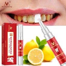 MeiYanQiong sbiancamento dei denti spazzolino da denti essenza igiene orale siero detergente rimuove le macchie di placca sbiancamento dei denti dentale