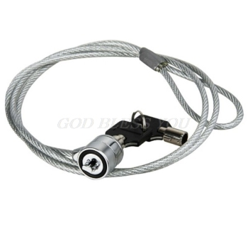 Computer Lock Security Security China Cable Chain With Key Laptop Lock Anti-theft Chain Locks Laptop Notebook Drop Shipping 1