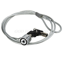 Computer Lock Security Security China Cable Chain With Key Laptop Lock Anti-theft Chain Locks Laptop Notebook Drop Shipping