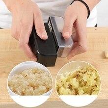 Многофункциональный кухонный чесночный Пресс из нержавеющей стали терка для имбиря кухонный инструмент для приготовления чеснокодавилка бытовой