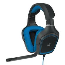 Logitech G430 USB Wired Gaming Headphone 7.1 Surround Adjustable Noise-Cancelling Headset Professional