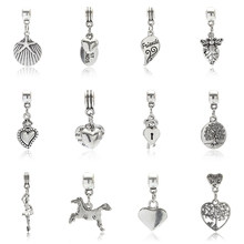 1Pce Pendant Accessories DIY Various Shapes Of Christmas Jewelry Handmade Jewelry Accessories Fashion Women Romantic Jewelry(China)