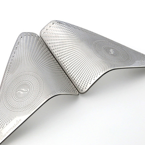 Автомобильная Дверь А-колонна из нержавеющей стали, 2 шт., твитер, аудио колонка, декоративная накладка, 3D наклейка для Mercedes Benz New C Class C200L