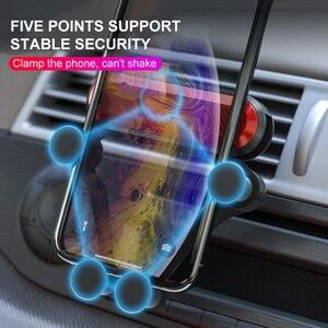 Image 3 - Auto Auto Tappetini Anti Scivolo di Gravità Supporto da Auto Per Il Telefono Car Air Vent Clip di Montaggio del Supporto Del Telefono Mobile Supporto GPS Accessori Auto TSLM2