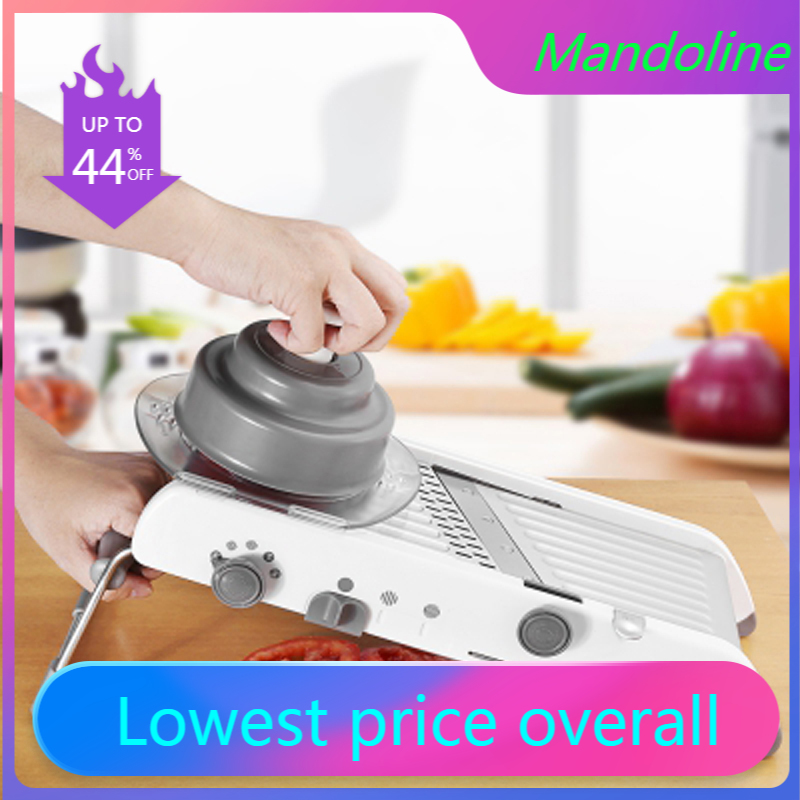 Mandoline Slicer Kitchen Accessories Manual Vegetable Slicer Professional Vegetable Cutter Adjustable 304 Stainless Steel Blade
