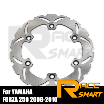 Motorcycle CNC Front Brake Rotor For YAMAHA FORZA 250 2008 - 2010 Brake Disc Disks Rotors FORZA250 2008 2009 2010 08 09 10