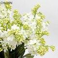 Одиночный Сиреневый цветок, домашний декор, искусственный цветок, Свадебный букет невесты, украшение «сделай сам», Высококачественный иску...