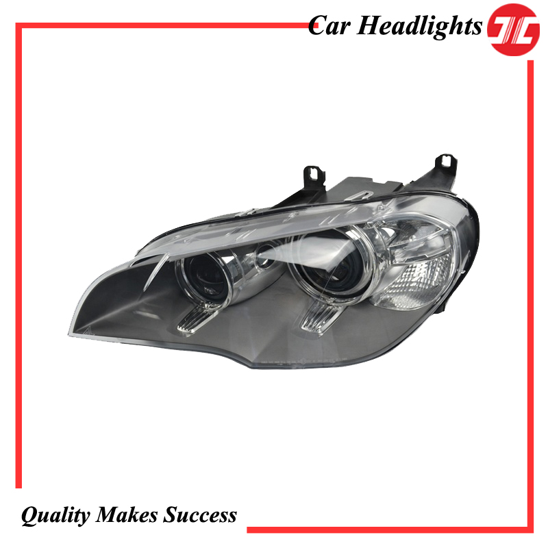 Auto Headlight/Headlamp Assy with HID Xenon & AFS 6311 7240 791/792 for Car BMW X5 Series E70 2011 2014 Complete Plug&Play Style|Lamp Hoods| |  -