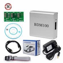 BDM100 V1255 profesjonalnego ECU Flasher Chip Tuning interfejs programisty BDM 100 ECU Flasher czytnik kodów narzędzie diagnostyczne OBDII