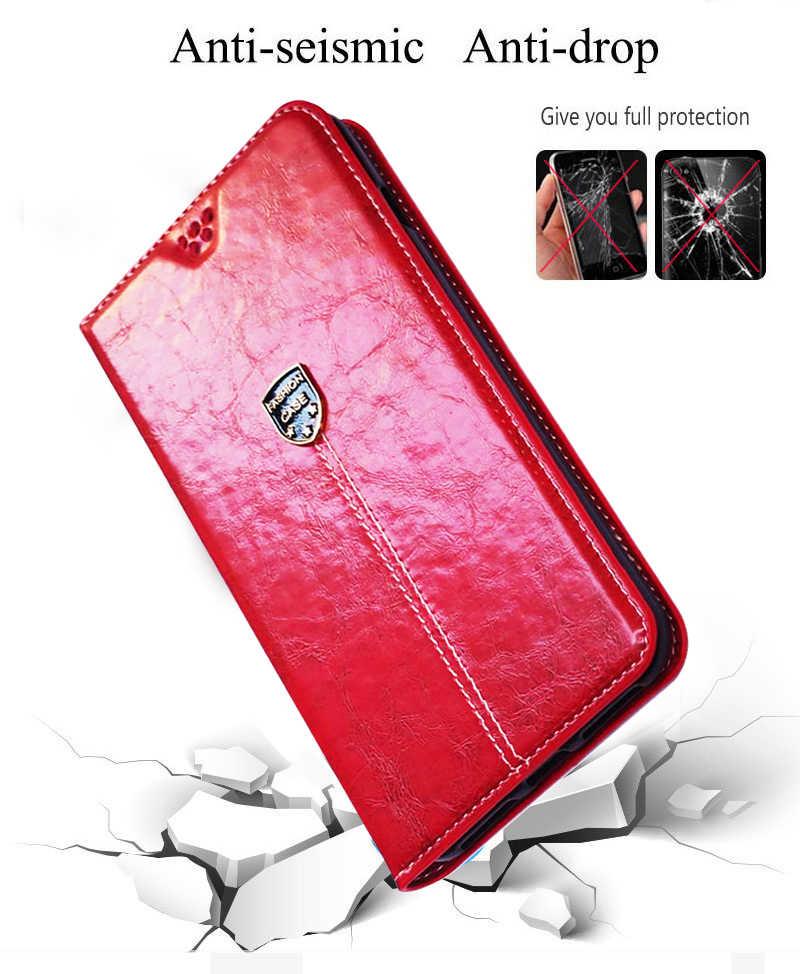 Cüzdan kılıfları OnePlus 7 7T Pro 6T 6 5T 5 3T 3 telefon kılıfı Flip deri kılıf flip çanta kılıfı kart yuvası standı