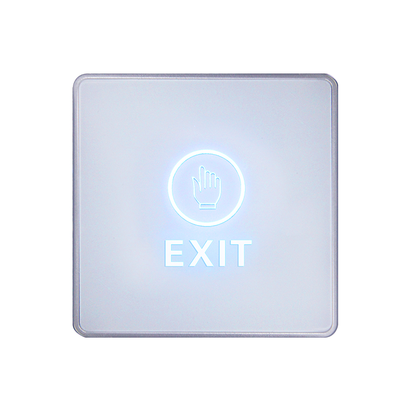 Door Exit Button Touch Release Push Switch Infrared Contactless Bule Backlight for access control systemc Electronic Door Lock (2)