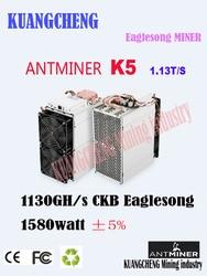 Pre-Sale Asic Mijnwerker Antminer K5 1130GH/S Schepen Op April 15-20 Ckb Miner Beter dan whatsminer M3X M20S Antminer S9 T17