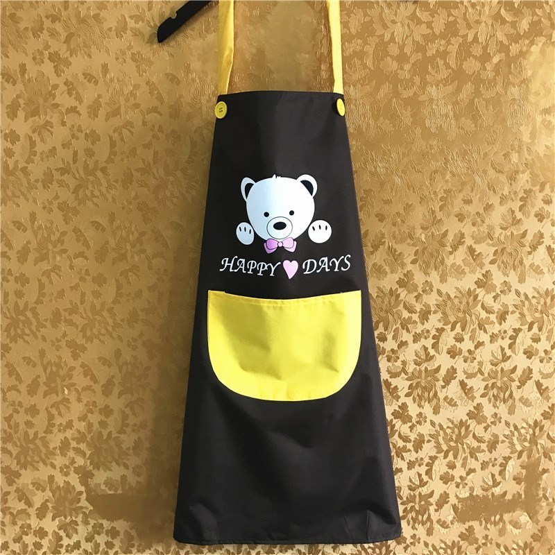 Large Children's Painted Apron Waterproof Painting Clothes Big Boy Brush Word Overclothes Students Chef Antifouling Protective C
