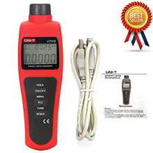 UNI-T UT372 Non-Contact Tachometers Target RPM Range 10~99999 MAX/MIN/AVG Test Distance 5~20cm USB Interface contact type thermometer uni t ut320a ut320d thermocouple single dual channel k j temperature tester data hold max min avg