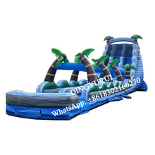 цена на Commercial bouncy slide Inflatable slide jungle water slide