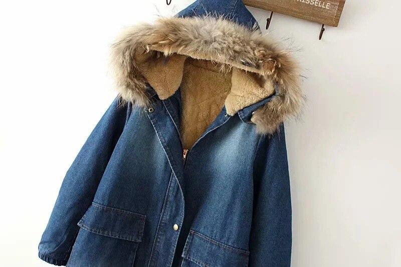 2018 одежда осень зима свободная одежда в студенческом стиле со съемным плечом, воротник из лисьего меха, большой карман, однотонная одежда из...