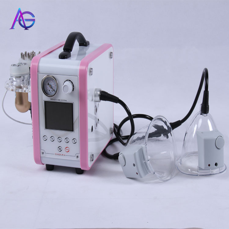 New Design Women Breast Nipple Sucking Enhancer / Enhancement Machine For Breast Spa Lifting
