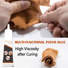 High Cloth Fabric Repair Glue Multifunction Fast Curing No Irritation High Viscosity Strength LG66
