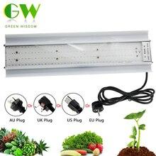 80W Phyto lamba büyümek tam spektrumlu LED bitki yetiştirme lambaları AC85 265V yüksek ışık verimliliği için büyüyen lambalar fide büyümek çadır