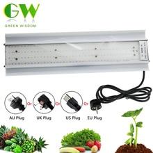 Phyto Lámpara LED de espectro completo para cultivo de plantas, AC85 265V, alta eficiencia luminosa, para plantas de semillero, tienda de cultivo, 80W