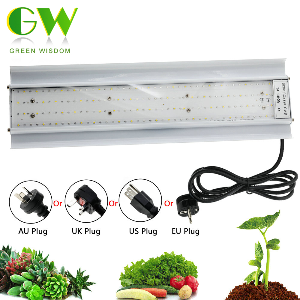 Phyto Lamp 80W LED Plant Grow Lights AC85-265V Full Spectrum High Luminous Efficiency Growing Lamps For Indoor Greenhouse Plants