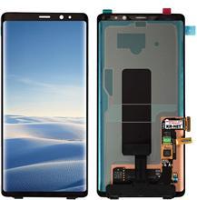 الأصلي 100% سوبر AMOLED Lcd لسامسونج غالاكسي نوت 8 شاشة N9500 N950Fd N950U عرض نوت 8 Lcd مع البقع السوداء dot