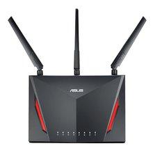 Asus двухдиапазонный Беспроводной гигабитный маршрутизатор с 4-Порты и разъёмы Gigabit LAN с тремя внешними антеннами для дома Применение RT-AC86U