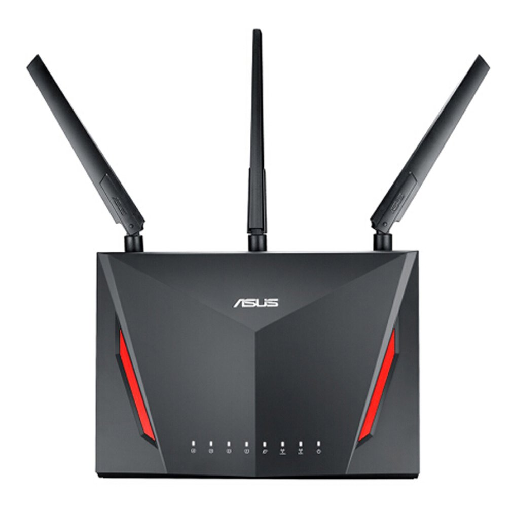Asus Dual-band Wireless Gigabit Router With 4-Port Gigabit LAN With Three External Antennas For Home Use RT-AC86U